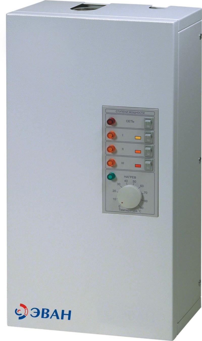 электрическая схема котла эван warmos-7.5