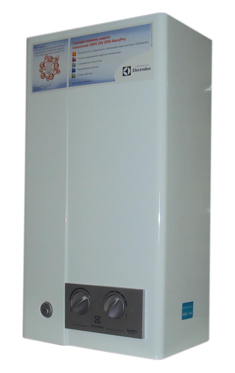 газовая колонка electrolux gwh 285 ern nanopro инструкция